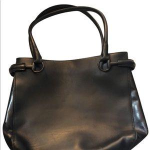 Gucci Vintage Black Leather handbag